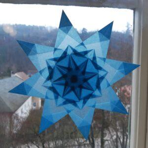 Osmicípá hvězda s více sklady
